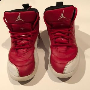 Nike Air Jordan Retro 12 Gym Red PS Sz 1Y